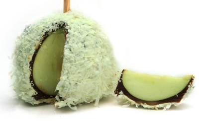 Coconut Chocolate Apple